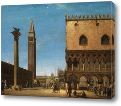 Вид на базилику Святого Марка, Венеция