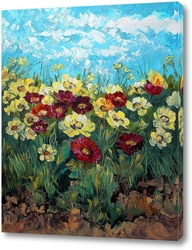 Картина Радостная полянка