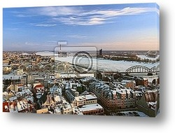 Постер Old Riga view