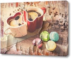 Постер Любовное кофе