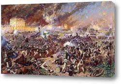 Оборона Смоленска  5 (17) августа 1812 г.
