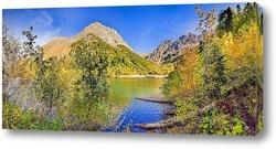 Постер Мажорная осень на озере Кардывач