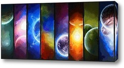 Постер Парад планет