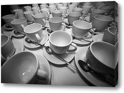 Постер Кофейные чашки