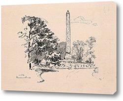 Картина Нью Йорк, обелиск