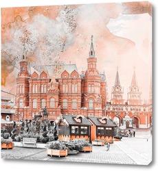 Постер Площадь Революции. Москва