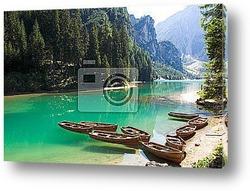 Постер Италия  - Доломитовые Альпы