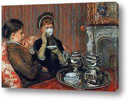 Картина За чашкой чая.