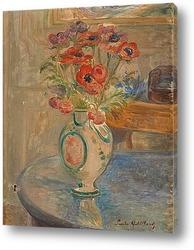 Постер Букет цветов на столе