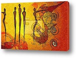 Постер Абстрактное искусство