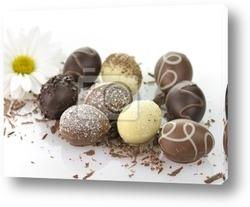 Постер Chocolate eggs