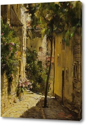Постер Уголок Италии