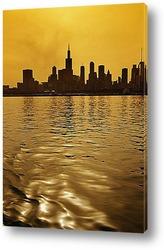 Небоскрёбы Чикаго.