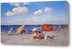Картина На берегу моря, 1892