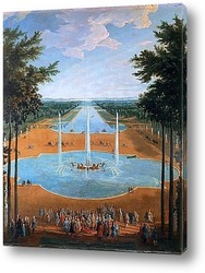 Вид Версаля