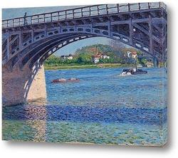 Картина Мост в Аржантее и Сена