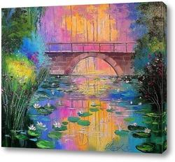 Картина Возле пруда