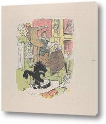 Картина Амбруаз Томас посещает репетицию Франчески да Римини, 1896