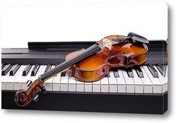 Скрипка на клавишах