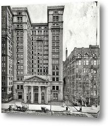Постер Здание Траст Кампени, Кливленд, штат Огайо, 1905