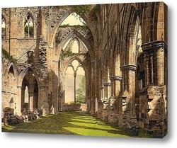 Постер Тинтернское аббатство, Англия. 1890-1900 гг