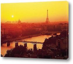 Вид на Всемирную выставку со стороны Сены