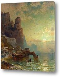 Крепость в Амальфи