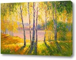 Картина Солнечный день у реки