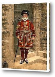 Постер Лейб гвардия, Лондон, Англия. 1890-1900 гг