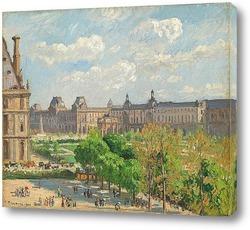 Постер Площадь Карусели, Париж, 1900