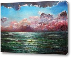 Картина Гроза над морем
