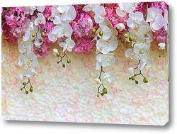 "Картина ""Орхидеи-фантастические цветы""."