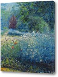 Картина Живерни, сад