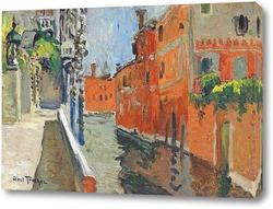 Постер Канал, Венеция
