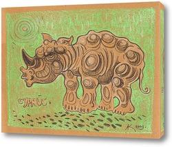 Постер Носорог