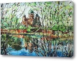 Картина Бородинский монастырь