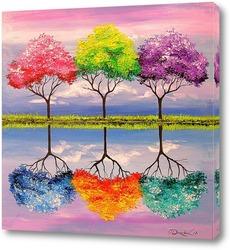 Постер Сказочные деревья
