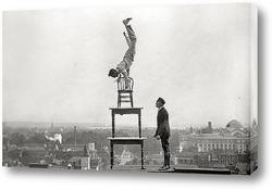 Постер Ральф Коффин выступает на шоу в Вашингтоне, 1916