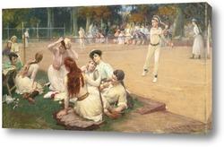 Постер Клуб большого тениса