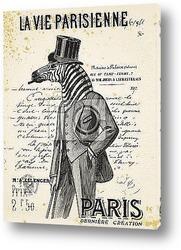 Постер Жизнь в Париже