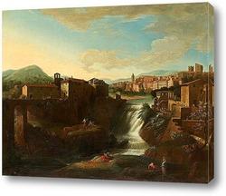Вид Венеции с Сан Хиорхио (1697)