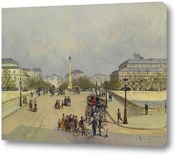 Париж площадь Мадлен