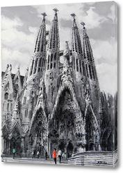 Постер Барселона, Саграда Фамилия