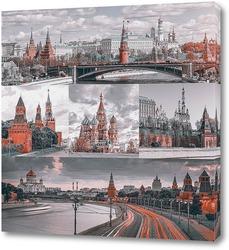 Монохромная Москва