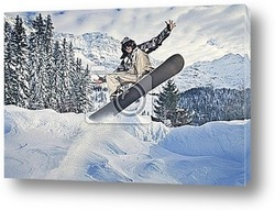 Постер Winter sports
