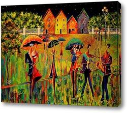 Постер Радужный джаз