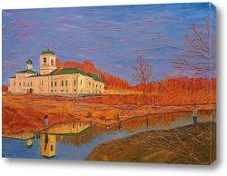Картина У стен Мирожского монастыря