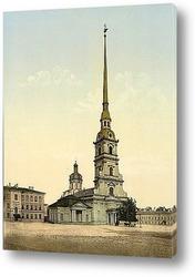 Постер Собор Петра и Павла, Санкт-Петербург, Россия, 1890-1900