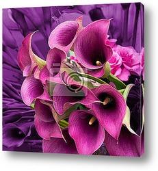 Постер Фиолетовые лилии