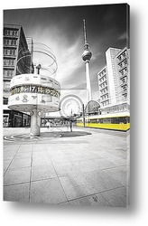 Постер Colorkey Alexanderplatz
